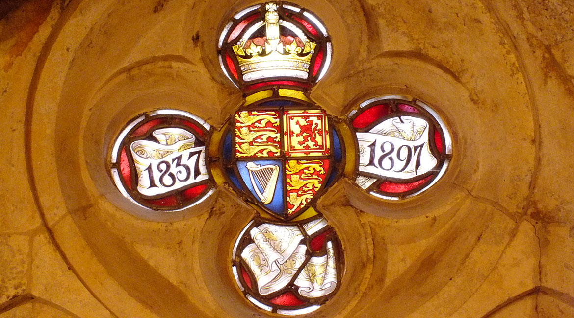 Restoration of the Royal Coat Of Arms, St. Albans, Copenhagen, Denmark