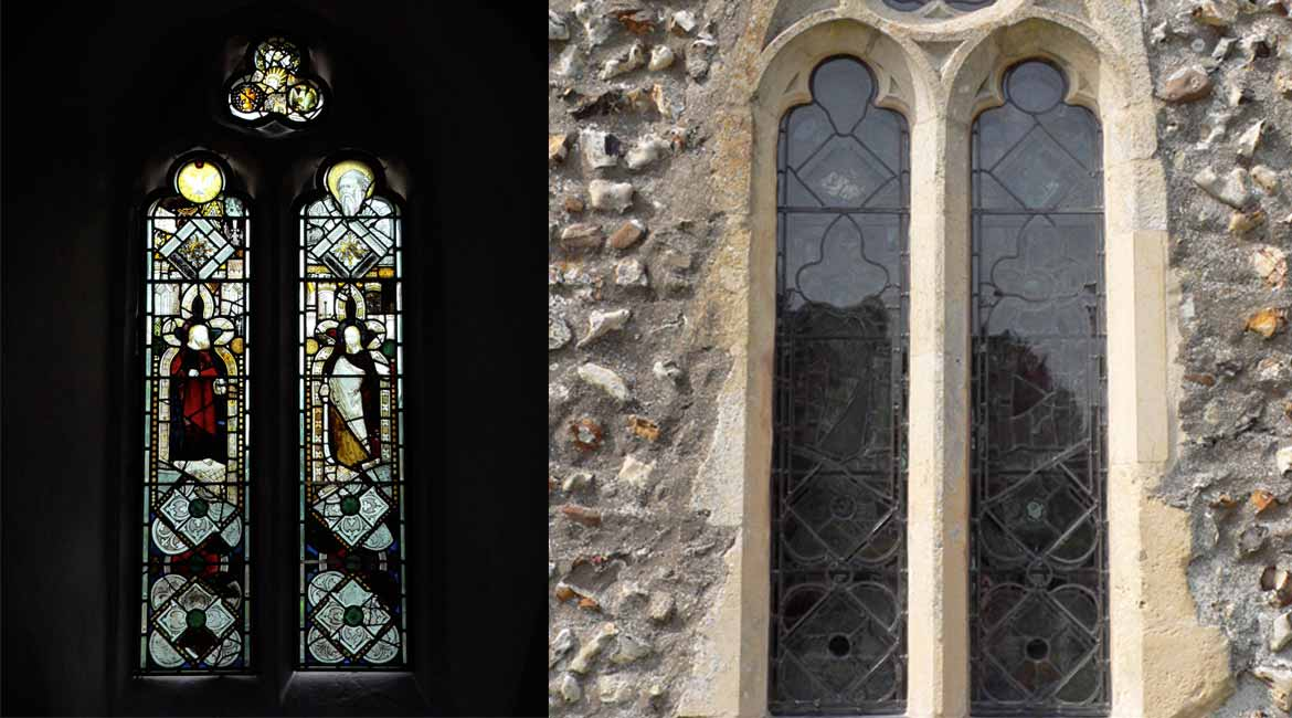 Restoration of the Stained Glass at St. Mary, Saxlingham Nethergate, Norfolk