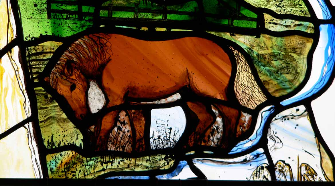 New Stained Glass Commission at All Saints, Honington, Suffolk