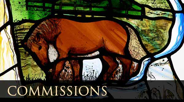 Commision of stained glass |