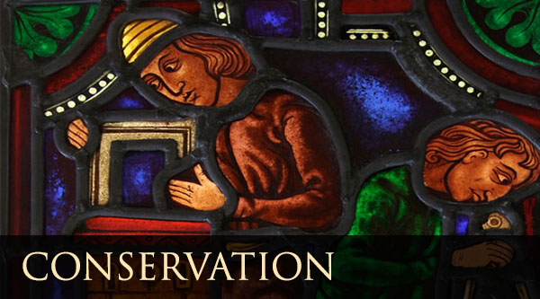 Conservation and restoration of stained glass